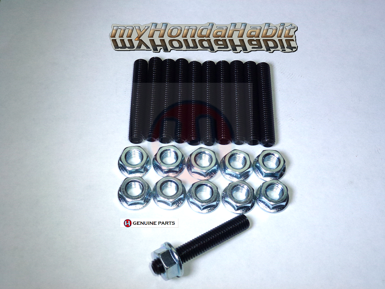 myHondaHabit Extended Intake Stud Kit for V6 Acura/Honda Engines